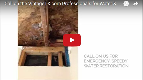 Vintage Restoration Water Damage Restoration